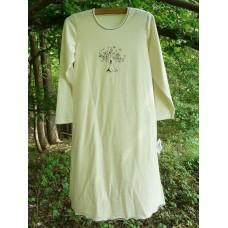 Noční košile  biobavlna přírodní  dívčí